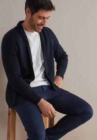 Falconeri - Blazer jacket - blu navy - 5