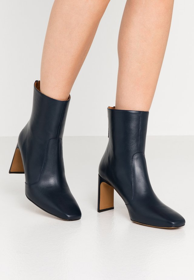 High heeled ankle boots - volga marino