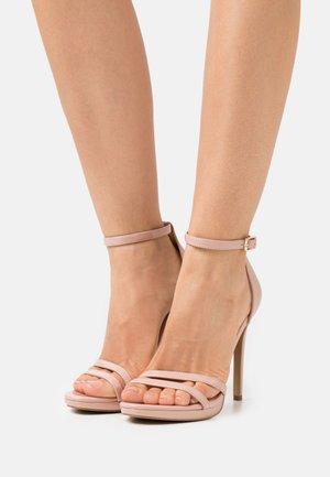BRYDGET - Platform sandals - blush