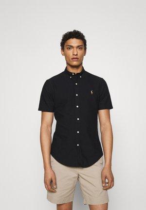 SLIM FIT OXFORD SHIRT - Koszula - black