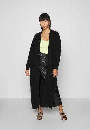 MAXI CARDI - Vest - black