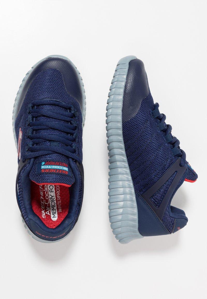 Skechers - ELITE FLEX - Sneaker low - navy/red