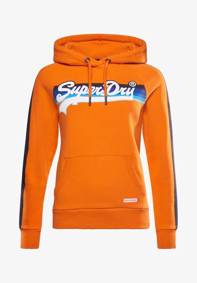 VINTAGE LOGO - Sweatshirt - shocker orange