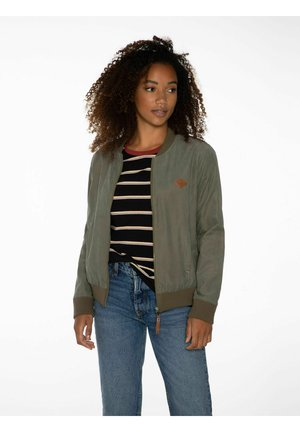 NXG PERRE - Bomber Jacket - just leaf