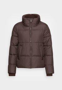 MODERN PUFFER  - Winter jacket - java dark brown