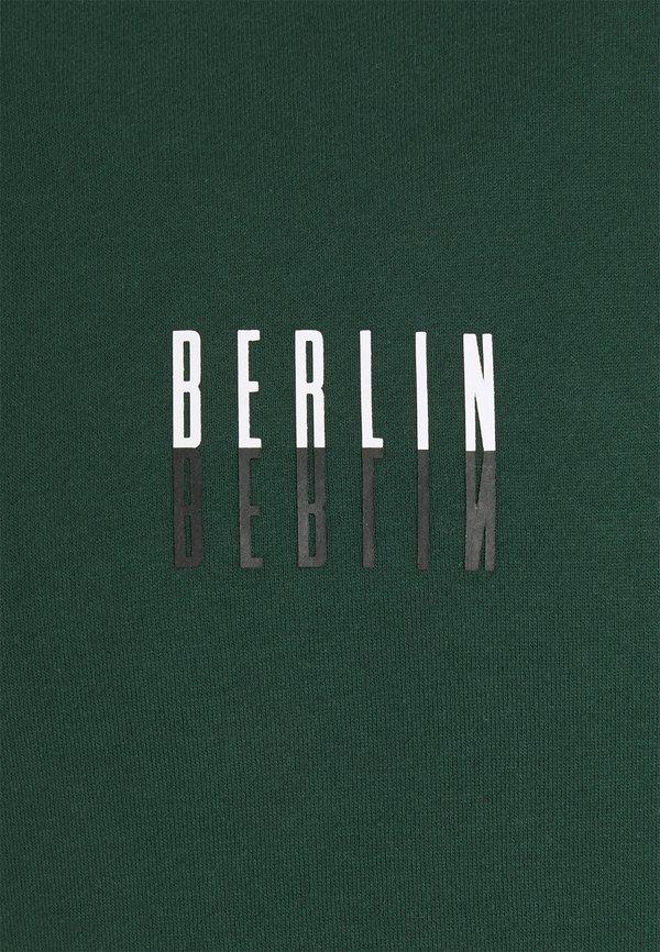 Pier One Bluza - green/zielony Odzież Męska ITBN