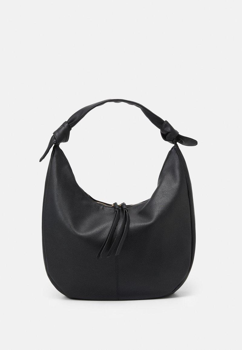 Dorothy Perkins - SORRENTO HOBO BAG - Tote bag - black