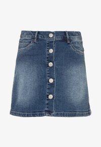 Name it - NKFTEGANI A-SHAPE SKIRT - Denim skirt - medium blue denim - 0