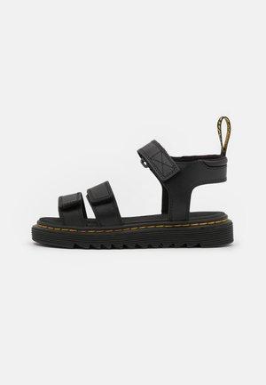 KLAIRE - Chodecké sandály - black