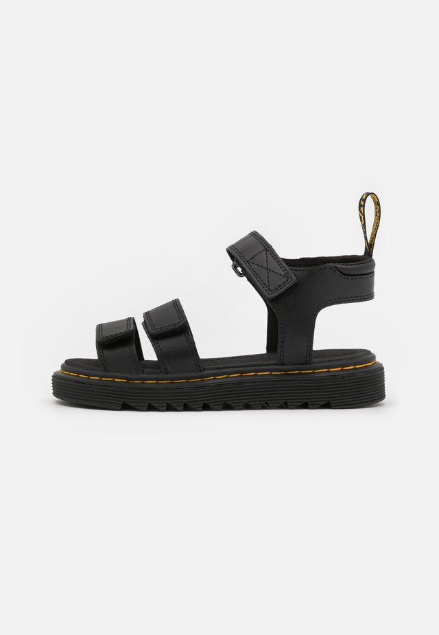 KLAIRE - Walking sandals - black