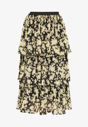 DAISY TIERED PLEAT - Áčková sukně - multi-coloured