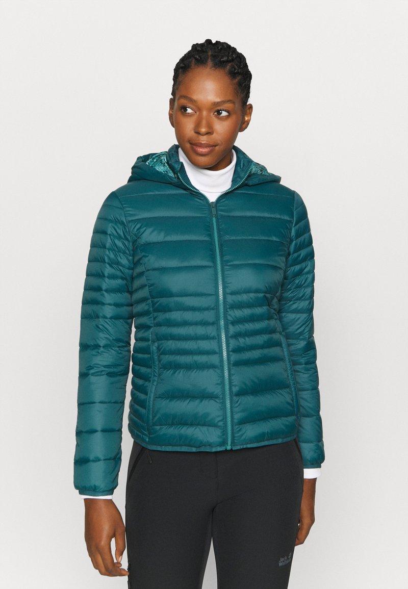 CMP - WOMAN JACKET SNAPS HOOD - Winter jacket - petrolio