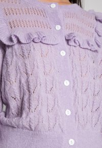 EDITED - NATHALIE CARDIGAN - Chaqueta de punto - pastel lilac - 4