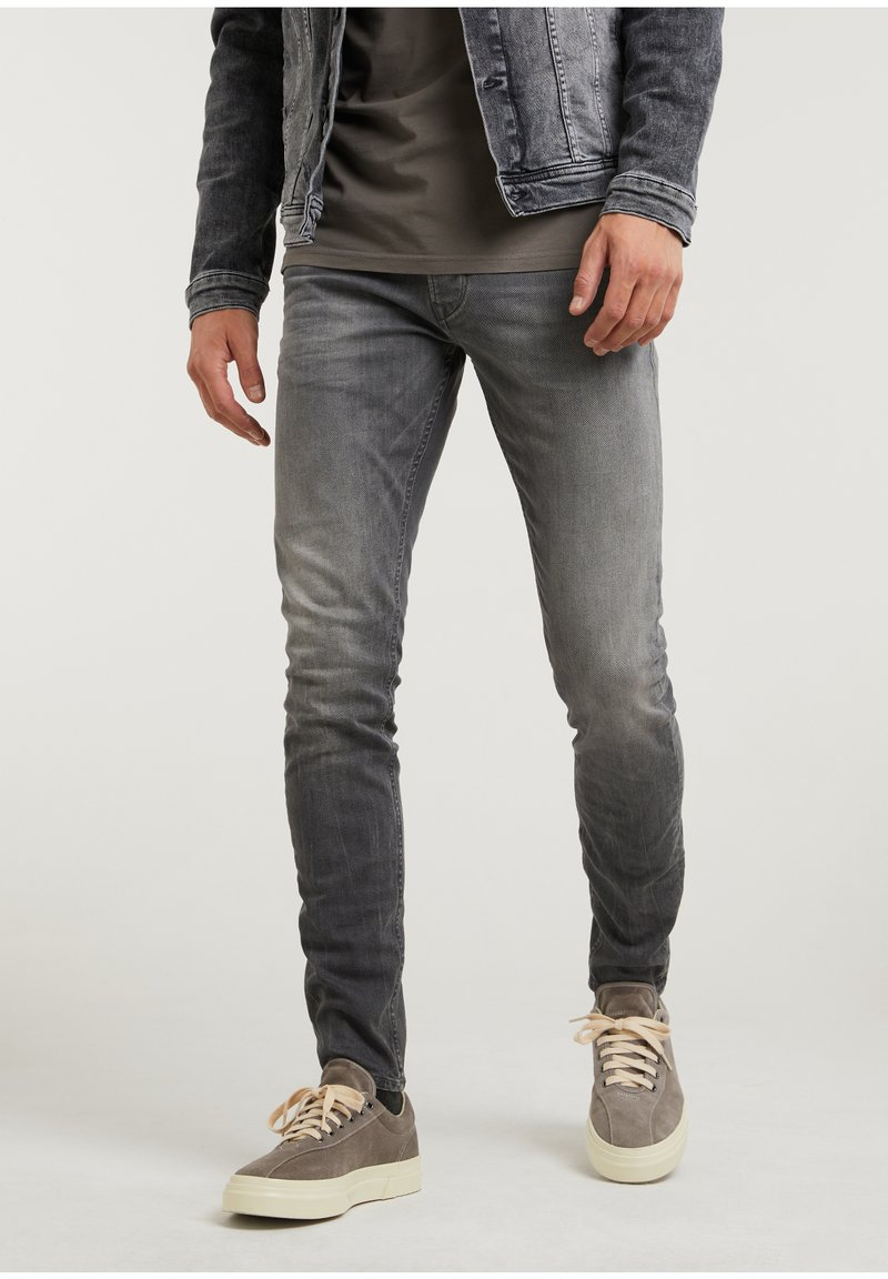 CHASIN' - Slim fit jeans - grey