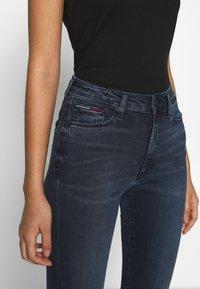 Tommy Jeans - SYLVIA HIGH RISE SUP SKY - Jeans Skinny Fit - dark-blue denim - 3