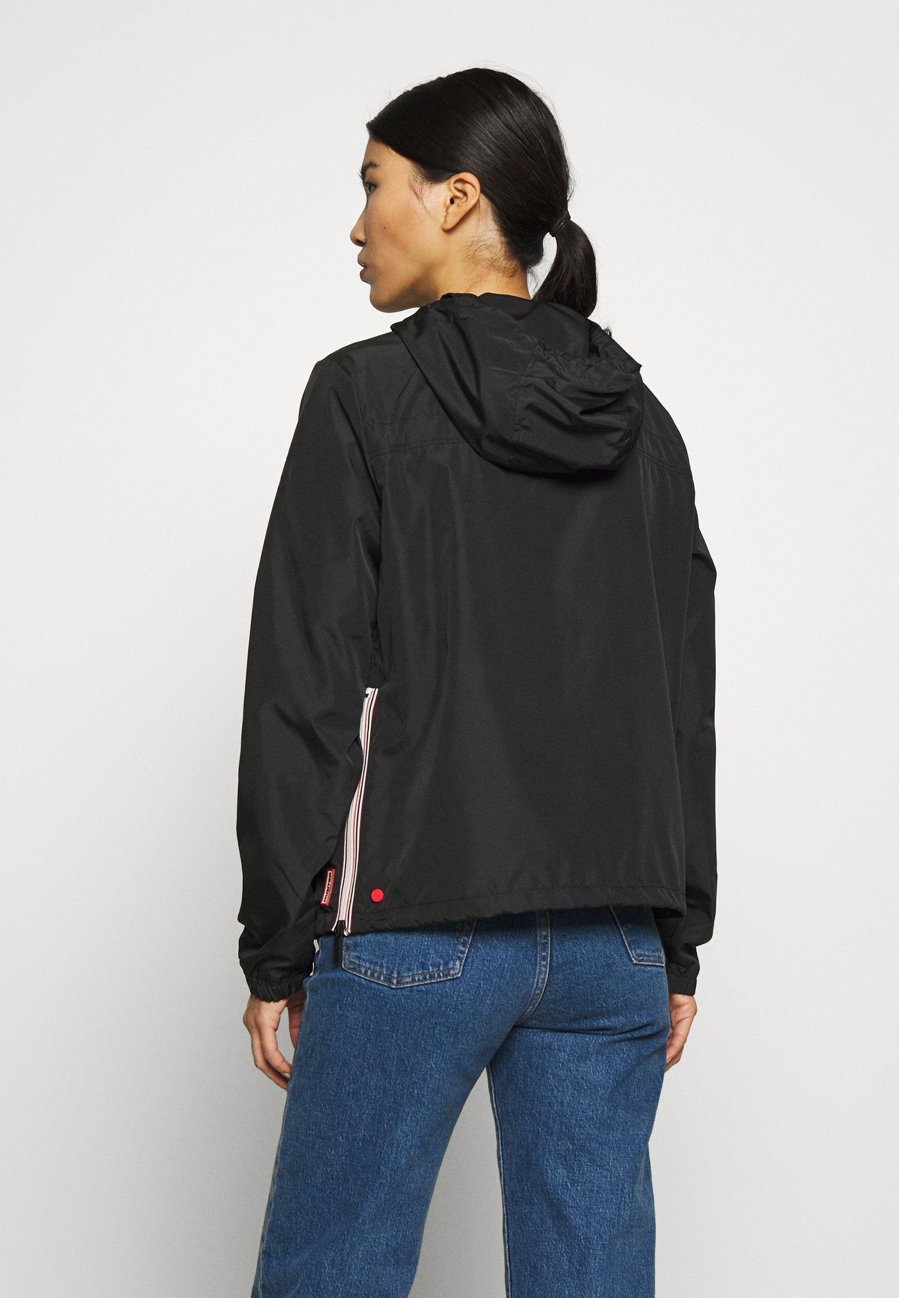 Hunter ORIGINAL WOMENS ORIGINAL SHELL WINDBREAKER - Windbreaker - black | Damenbekleidung billig