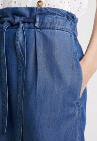 s.Oliver - A-line skirt - blue denim - 4