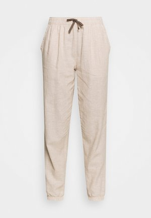ISLAND BEACH PANTS - Trousers - ochre