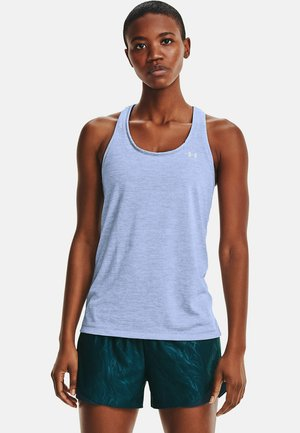 TECH TWIST TRAININGSTANK DAMEN - Sports shirt - blue