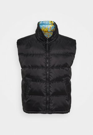 RISTOP PRINT BAROQUE - Waistcoat - black