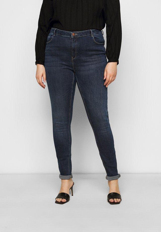 CARLAOLA LIFE - Jeans Skinny Fit - dark blue denim