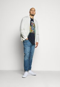 Jack & Jones - JORVEGAS JACKET - Bomber Jacket - silver birch - 1