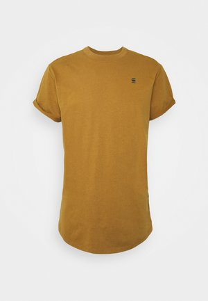 LASH ROUND SHORT SLEEVE - T-shirt basic - oxide ocre