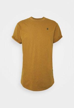 LASH R T S\S - Basic T-shirt - oxide ocre