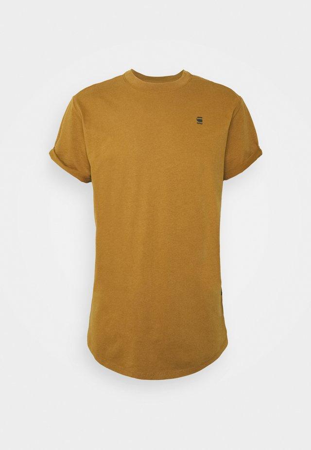 LASH R T S\S - T-shirt - bas - oxide ocre