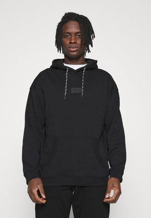 SILICON HOODY UNISEX - Jersey con capucha - black