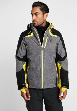 LEADER - Ski jacket - novelty ebony