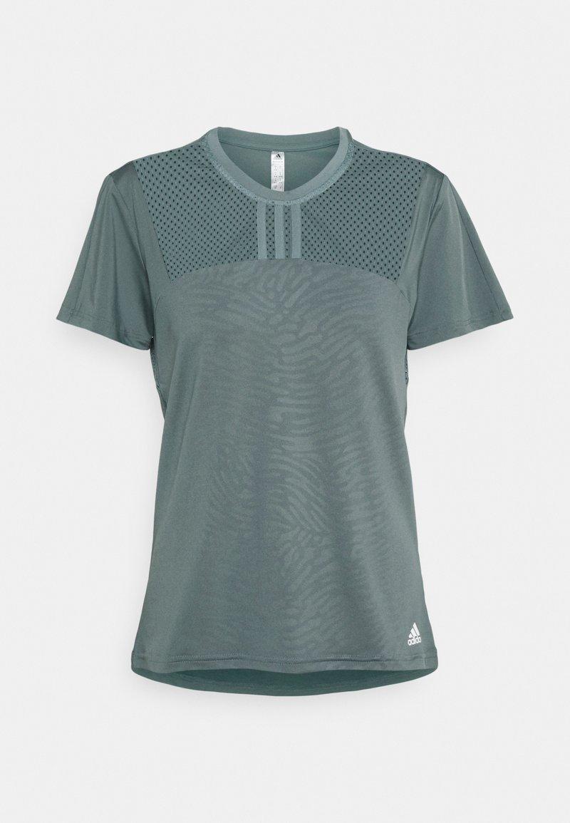 adidas Performance - UFORU - T-shirts - bluoxi