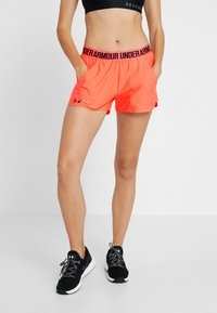 Under Armour - PLAY UP 2.0 - Pantaloncini sportivi - peach plasma/black - 0