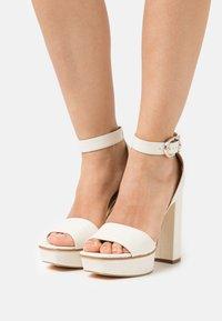 Guess - RIPPA - Platform sandals - cream - 0