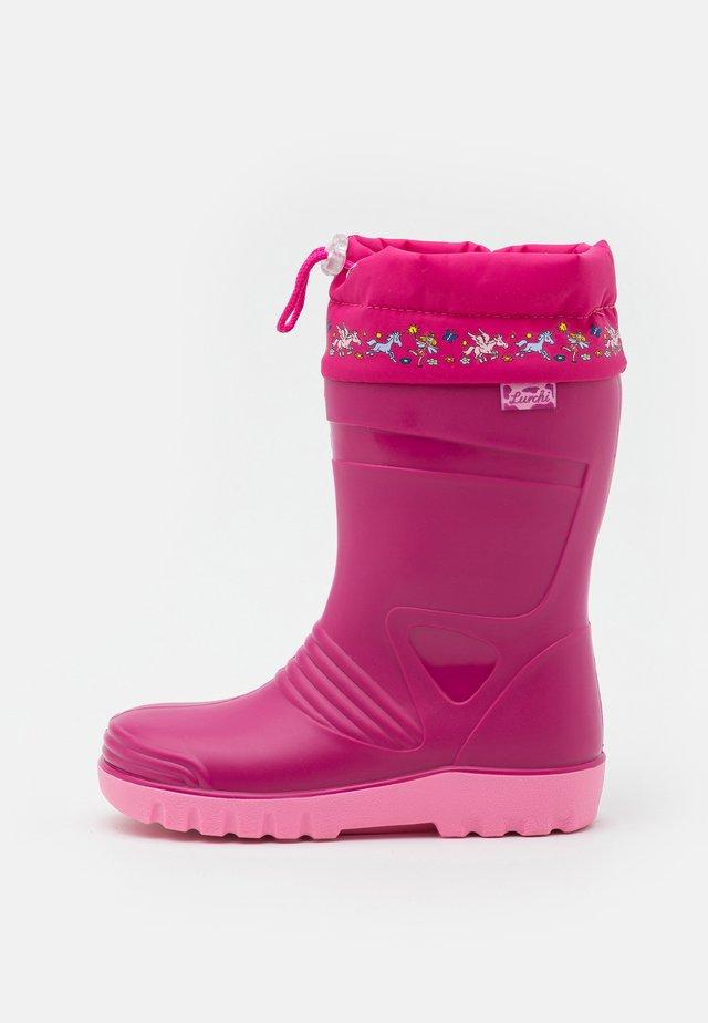 PHILLY - Gummistøvler - pink