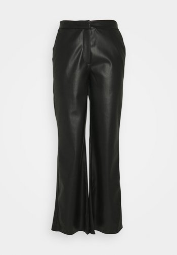 DINARA PANTS - Trousers - black