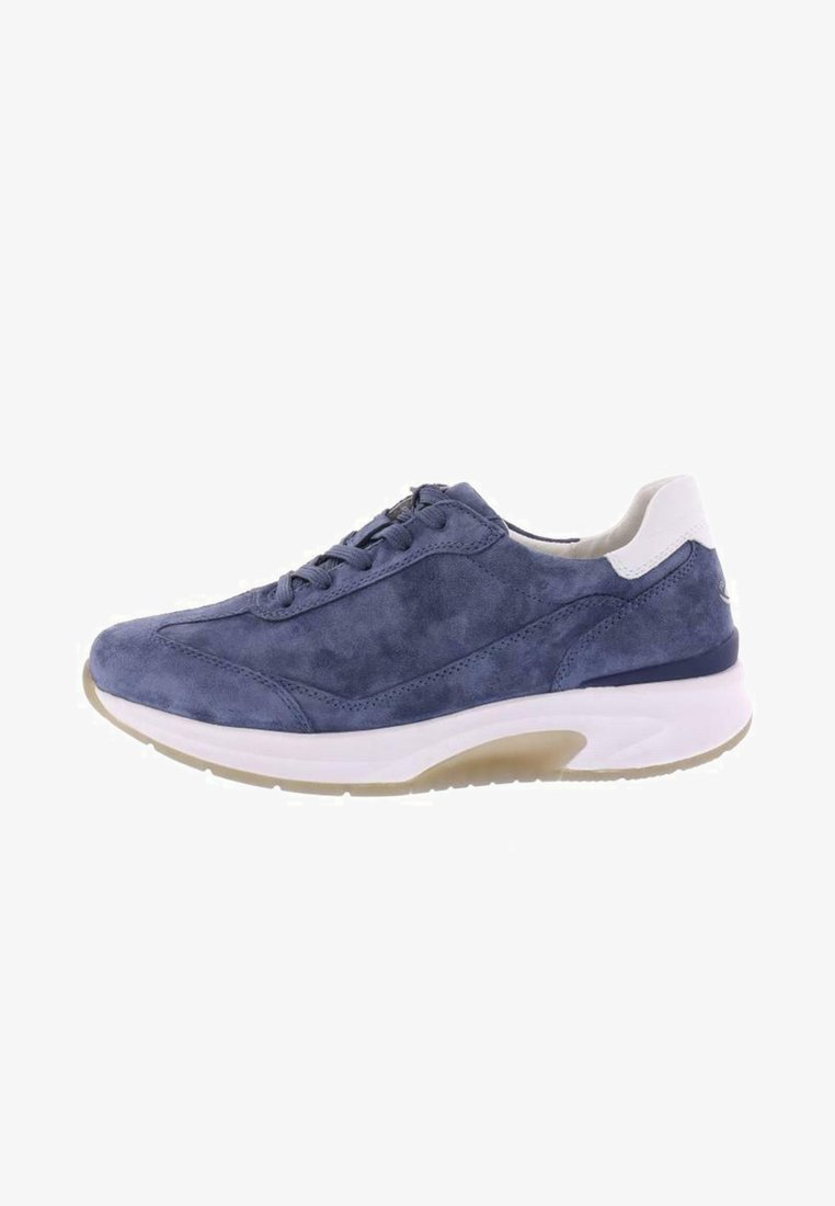 Gabor Comfort - ROLLINGSOFT - Trainers - jeans/weiss