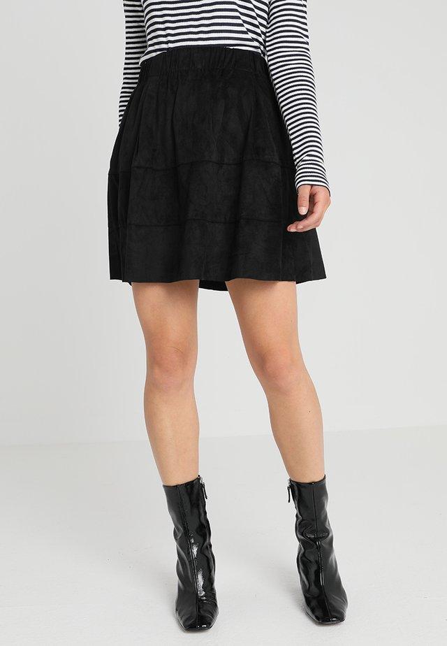 NMLAUREN SKIRT - A-line skirt - black