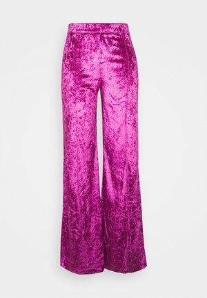 SITA PANTS - Trousers - fuchsia