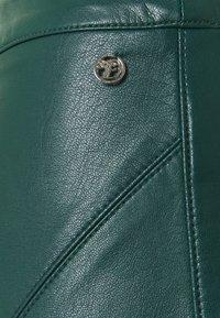 TOM TAILOR DENIM - MINI SKIRT - A-line skirt - deep green lake - 2