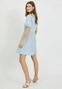 Vila - Day dress - cashmere blue - 1