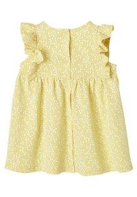 Vertbaudet - Day dress - gelb bedruckt - 1
