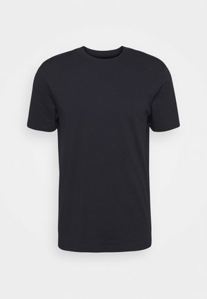 SLHRELAXCOLMAN O NECK TEE - Basic T-shirt - black