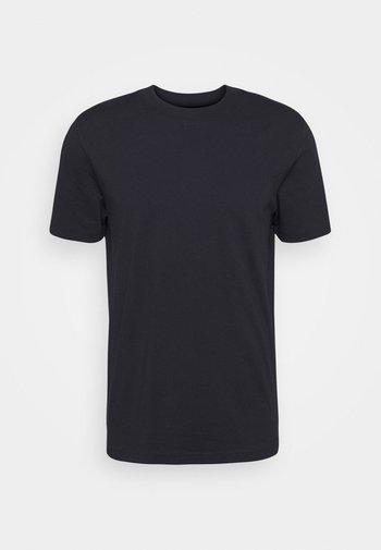 SLHRELAXCOLMAN O NECK TEE - Basic T-shirt - black