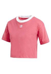 adidas Originals - CROP TOP - Basic T-shirt - pink - 2