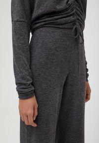 PULL&BEAR - Trousers - dark grey - 2