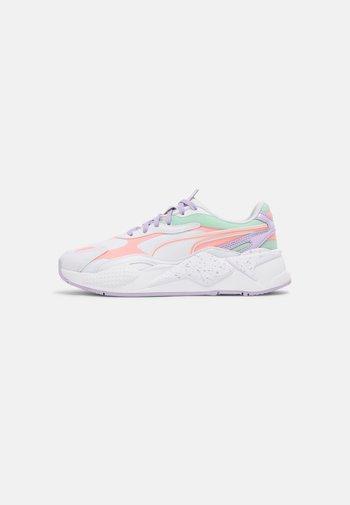 RS-X³PASTEL MIX - Sneakers laag - puma white/elektro peach/mist green