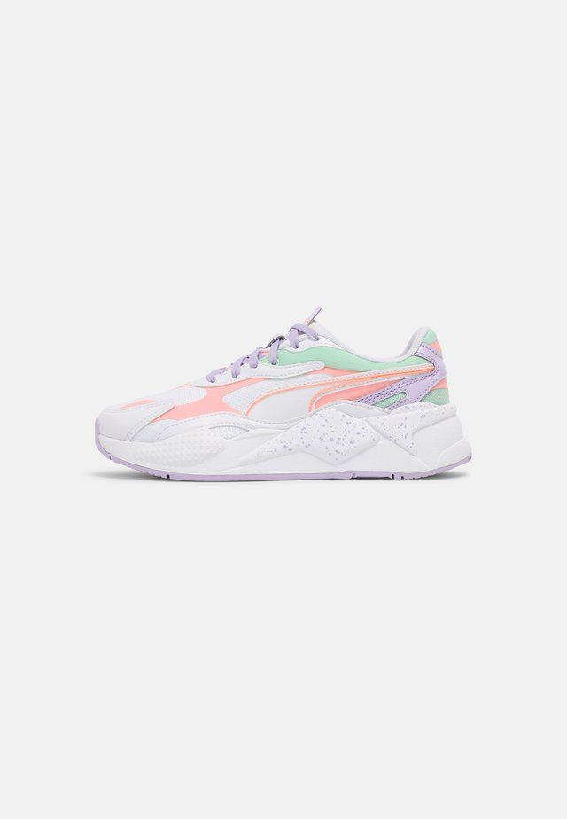 RS-X³PASTEL MIX - Sneakers basse - puma white/elektro peach/mist green