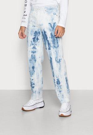 JJIEDDIE JJORIGINAL - Jeans straight leg - blue denim