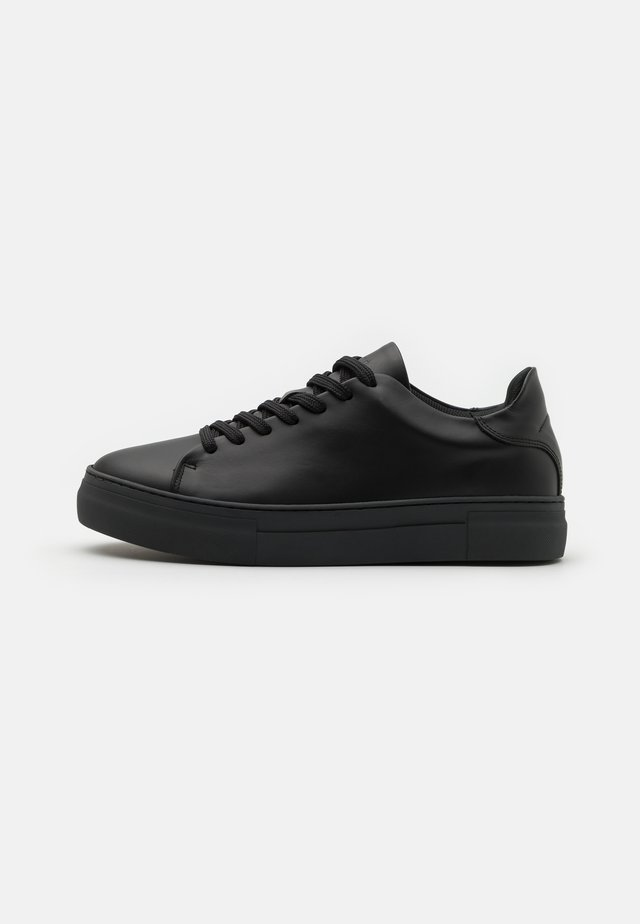 SLHDAVID CHUNKY CLEAN - Sneakers laag - black